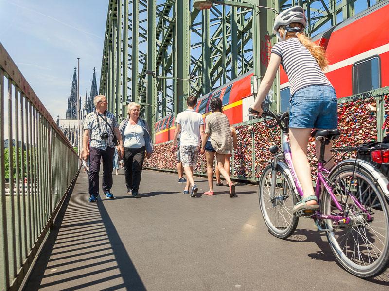 Hohenzollernbrücke Foto: Daniel Ullrich
