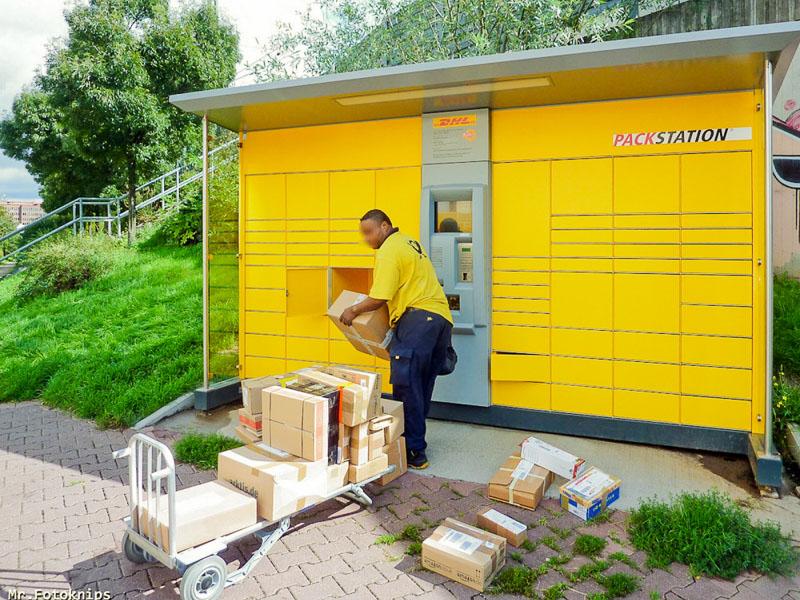 Durch Paketstationen können Zustellverkehre eingespart werden. Foto: Mr. Fotoknips, CC BY-ND 2.0 DE