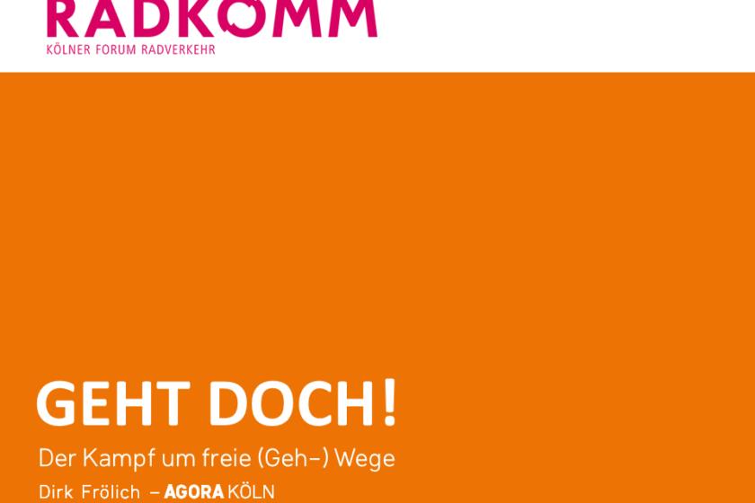 """Titelfolie des Vortrags """"Geht doch!"""" auf der Radkomm 4"""